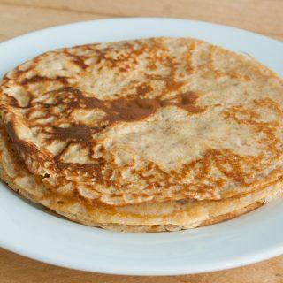 Gezond ontbijt: Speltpannenkoeken