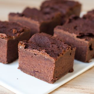 Speculaas kidneybonen brownie