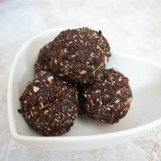 Cocos-choco energyballs