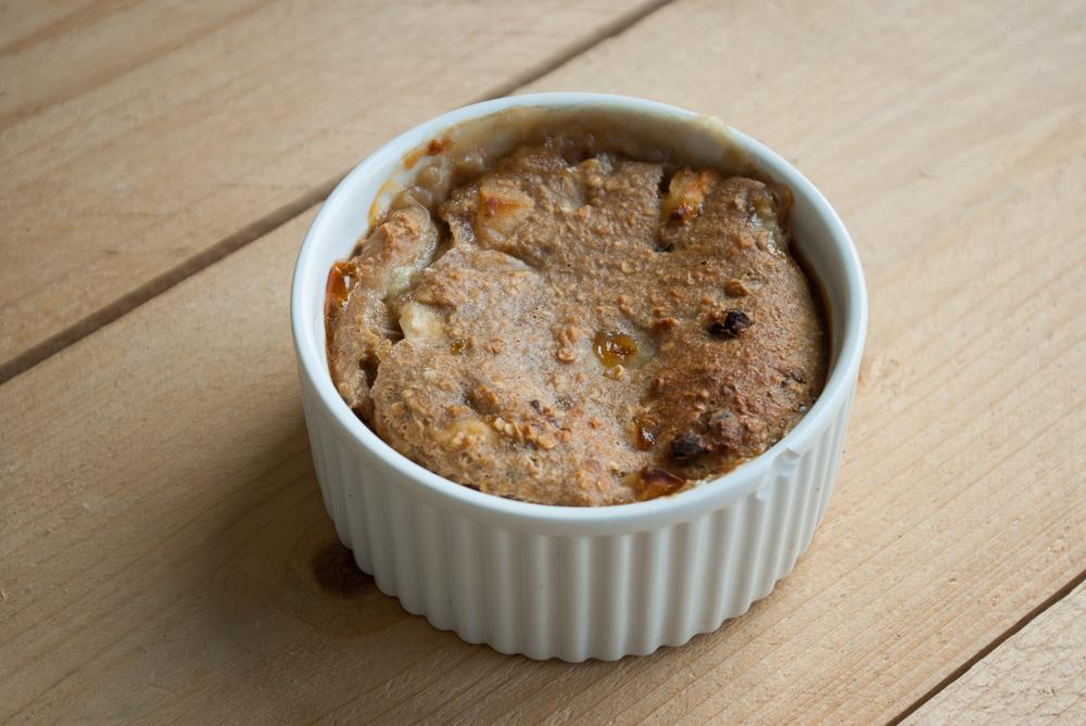Haver-appeltaartje uit de oven