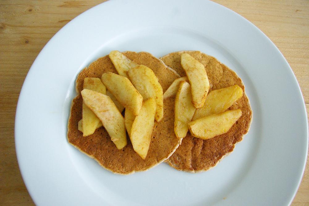 Vegan fluffy pannenkoekjes