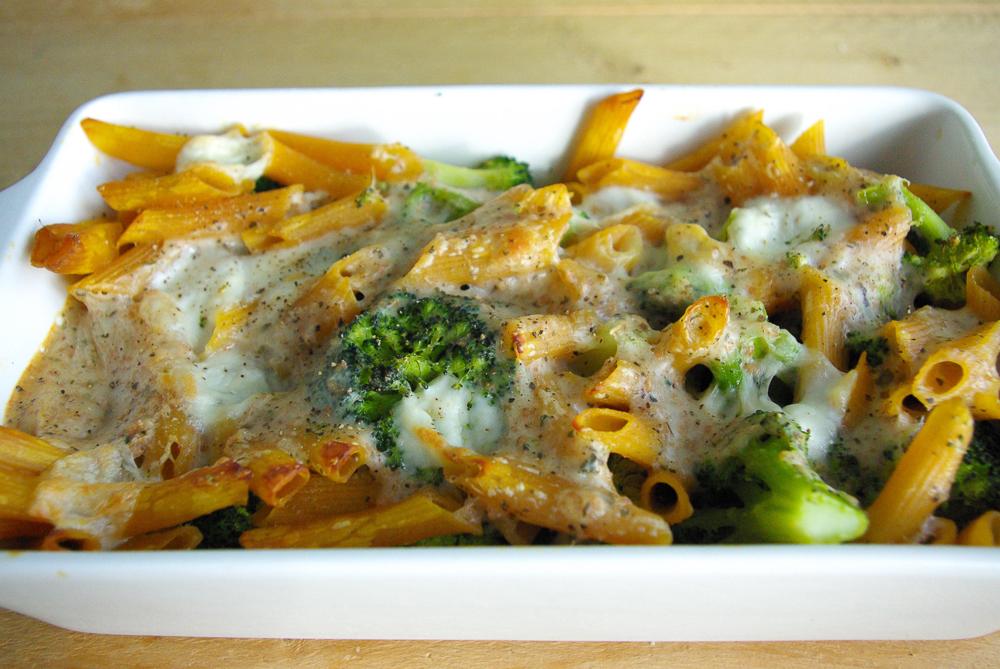 Ovenpasta met broccoli