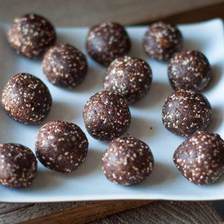 Choco-dadel ballen