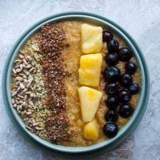 winter smoothiebowl