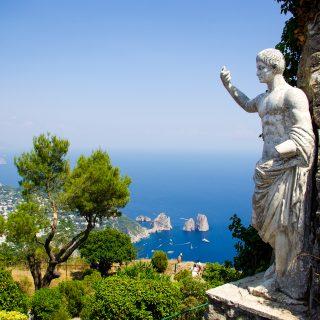Italiaanse eiland Capri