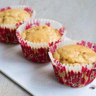 Rabarber muffins met vanille