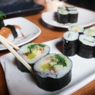All you can eat sushi bij Genki in Amsterdam