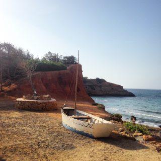 stranden in de buurt van Ibiza-stad