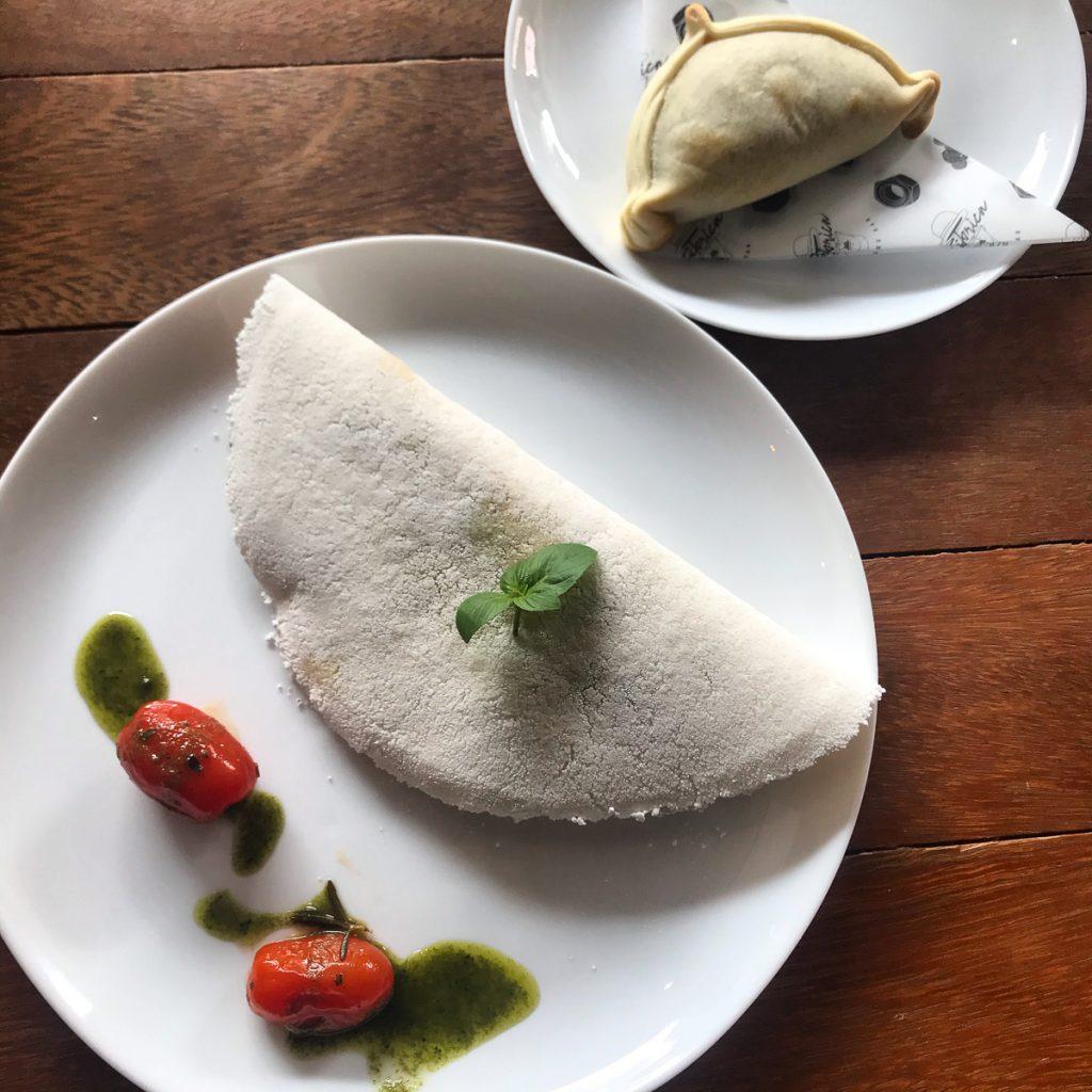 typisch Braziliaanse gerechten - Tapioca